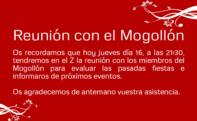 2016 noticia reunion mogollon